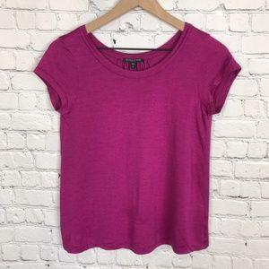 Eileen Fisher Silk Cotton Pink T shirt P